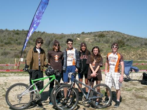 The OG OC Bike Team, 2009